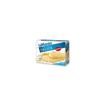 Bimanan entre horas crackers de queso 200 g 10 unidades