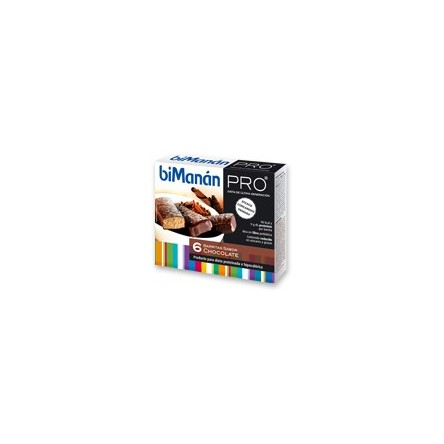 Bimanan metodo pro barrita chocolate dieta hiperproteica e hipocalorica 6 barritas