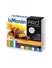 Bimanan metodo pro barrita chocolate naranja hiperproteica e hipocalorica 6 barritas