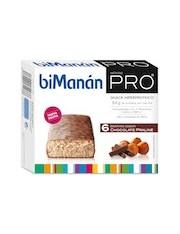 Bimanan metodo pro barrita chocolate praline hiperproteicas hipocaloricas 6 barritas