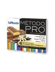 Bimanan metodo pro barrita chocolate- vainilla hiperproteica e hipocalorica 6 barritas