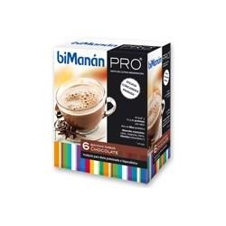 Bimanan metodo pro batido chocolate hiperproteica e hipocalorica 6 sobres