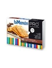 Bimanan metodo pro galletas cereales con chocolate 200g 16 galletas