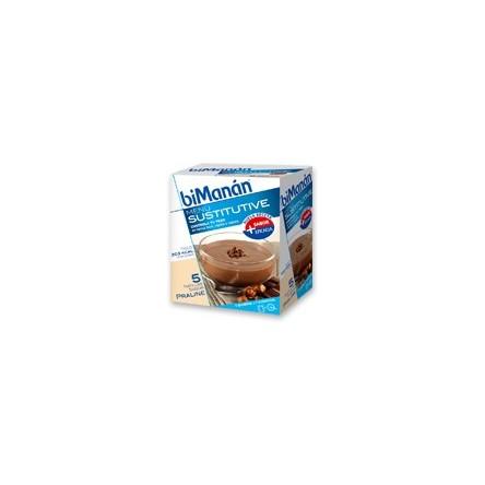Bimanan natillas praline 50 g 6 sobres