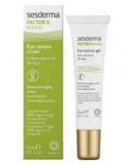 Factor g Crema Contorno de ojos Antienvejecimiento 15 ml Sesderma