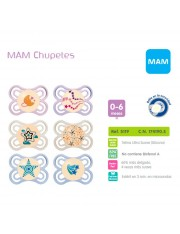 MAM Chupete Mam Perfect Night 0-6 Meses Silicona