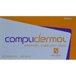 Complidermol anticaida 50 capsulas