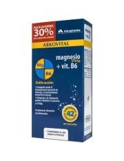 Arkovital Magnesio 375mg + Vitamina B6 21 Comprimidos Efervescentes DUPLO