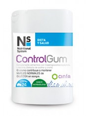 NS CONTROLGUM 24 CHICLES CINFA