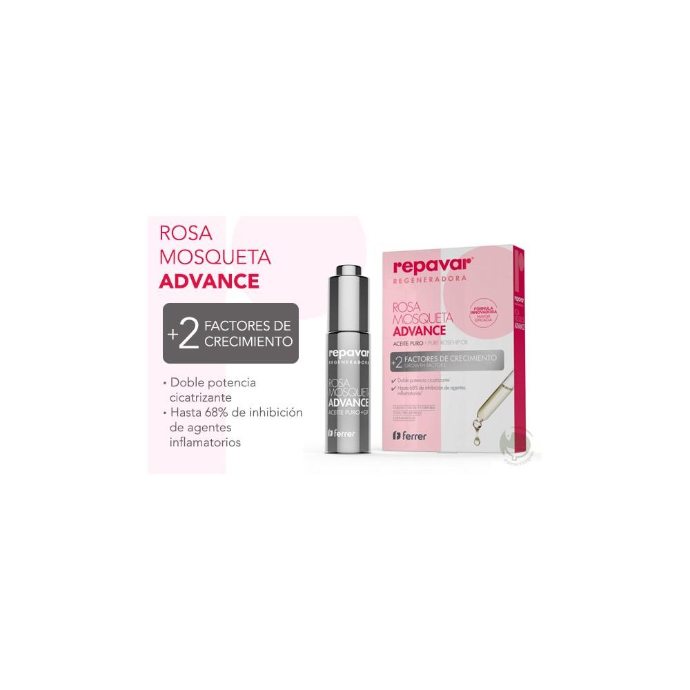 Repavar rosa mosqueta advance aceite 15ml product description -  Repavar Regeneradora Advance Aceite Puro Rosa Mosqueta 15 Ml