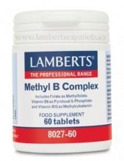 METHYL B COMPLEX 60 TABLETAS LAMBERTS