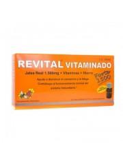 REVITAL VITAMINADO FORTE JALEA REAL 1500 AMPOLLAS BEBIBLES 10 VIALES