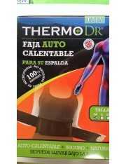 THERMO DR FAJA CINTURON AUTO CALENTABLE PARA SU ESPALDA