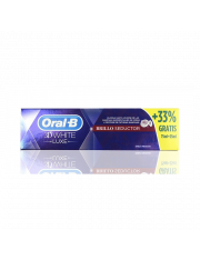 ORAL B 3D WHITE PASTA DENTAL LUXE BRILLO SEDUCTOR PACK 75 ML + 25 ML GRATIS