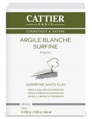 Cattier arcilla blanca superfina 200 g