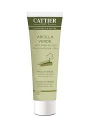 Cattier arcilla verde lista para su uso 100 g