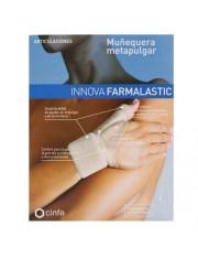 Muñequera metapulgar farmalastic innova beigetalla peq/med (muñeca 12-19 cm,pulgar 5-6.5 cm) cinfa