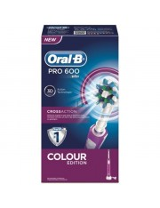 ORAL B PRO 600 CEPILLO DENTAL ELECTRICO RECARGABLE MORADO