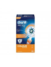 ORAL B PRO 600 CEPILLO DENTAL ELECTRICO RECARGABLE NARANJA