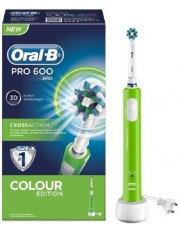 ORAL B PRO 600 CEPILLO DENTAL ELECTRICO RECARGABLE VERDE
