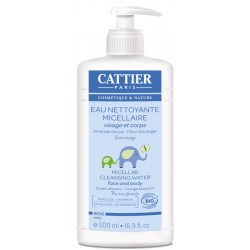 Cattier bebe agua limpiadora micelar 500 ml