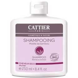 Cattier champu bambu cabellos secos 250 ml
