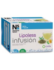 NS LIPOLESS INFUSION 20 SOBRES CINFA