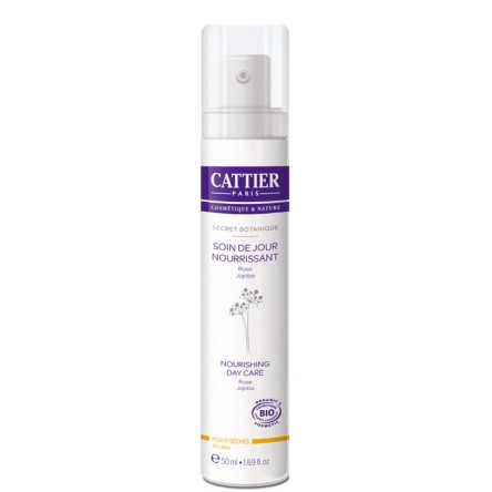 Cattier crema nutritiva dia seca y sensible 50 ml