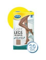 DR SCHOLL MEDIAS DE COMPRESIÓN LIGHT LEGS CARNE 20 DEN TALLA L