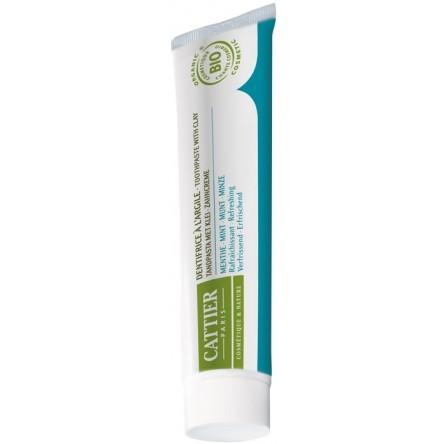 Cattier dentargile menta refrescante 75 ml