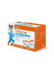 NS VITANS ENERGY GEL 20 SOBRES CINFA
