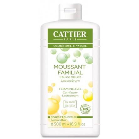 Cattier gel espumoso familiar lactoserum 500 ml