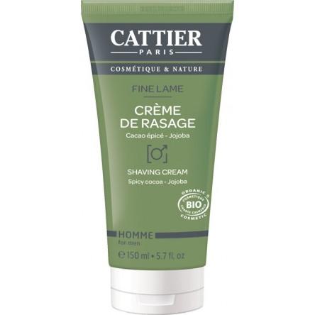 Cattier hombre fine lame crema de afeitar 150 ml