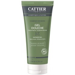 Cattier hombrecabine de bain gel ducha 200 ml