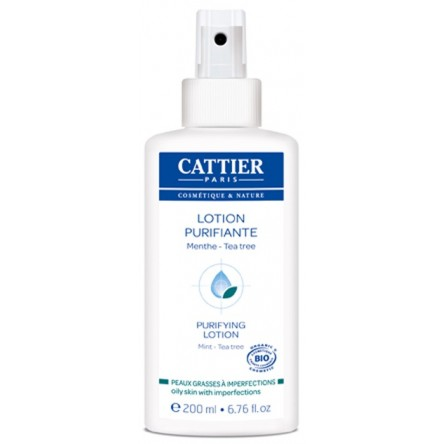 Cattier locion purificante tea tree 200 ml