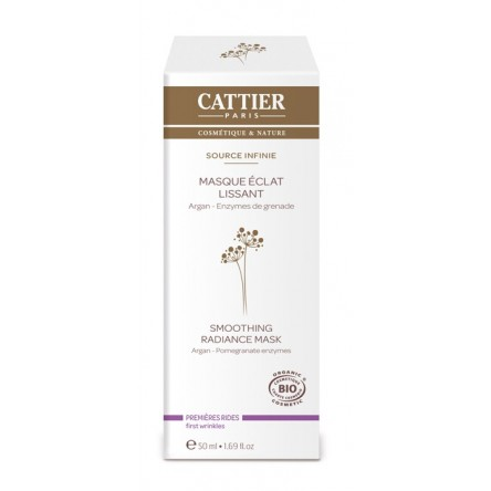 Cattier mascarilla luminosidad alisante 50 ml