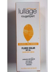 LULLAGE ROUGEXPERT FLUIDO SOLAR SPF 50+ ROJECES 50 ML
