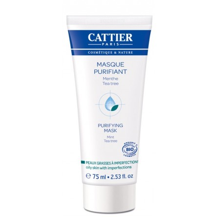 Cattier mascarilla purificante tea tree 75 ml
