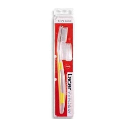 Cepillo dental adulto lacer technic extra-suave