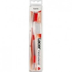 Cepillo dental adulto lacer technic fuerte