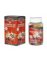 MULTIVITAMINAS DISNEY CARS 60 GOMINOLAS