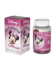 MULTIVITAMINAS DISNEY MINNIE 60 GOMINOLAS