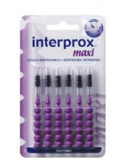 Cepillo dental interproximal interprox maxi 6 unidades