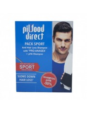 PILFOOD PACK SPORT ESPECIAL DEPORTISTAS CHAMPU ANTICAIDA CON PRO-ANAGEN 200 ML + CHAMPU PH6 200 ML