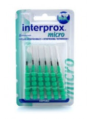 Cepillo dental interproximal interprox micro 6 unidades