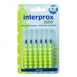 Cepillo dental interproximal interprox mini 6 unidades