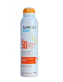 SAFE SEA KIDS SPF 50 FOTOPROTECTOR ESP MEDUSAS AEROSOL 200 ML SPRAY