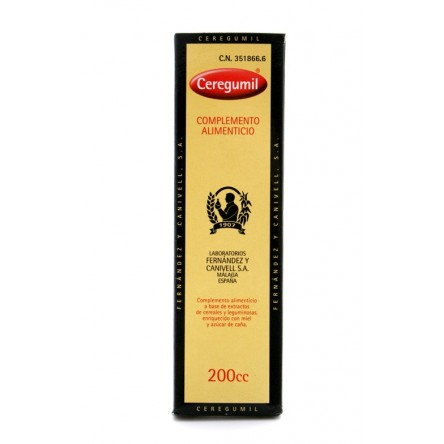 Ceregumil complemento alimenticio liquido 200 ml.