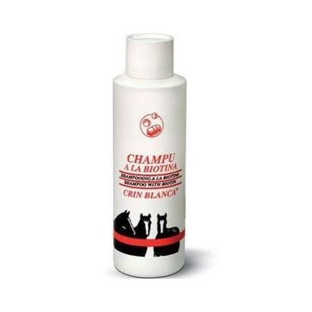 Champu biotina crin blanca caballos 1 litro