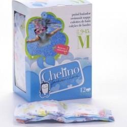 Chelino fashion & love pañal bañador infantil t - m 5- 9 kg 12 pañales